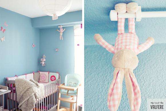 Idee Deco Chambre Ado Loft : Re Le classique  peinture pour chambre de bébé (fille) ! help