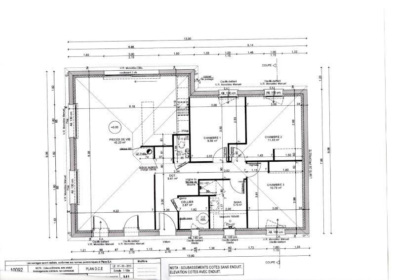 Choix des couleurs pour maison neuve avis sur bleu dans - Simulation plan maison ...