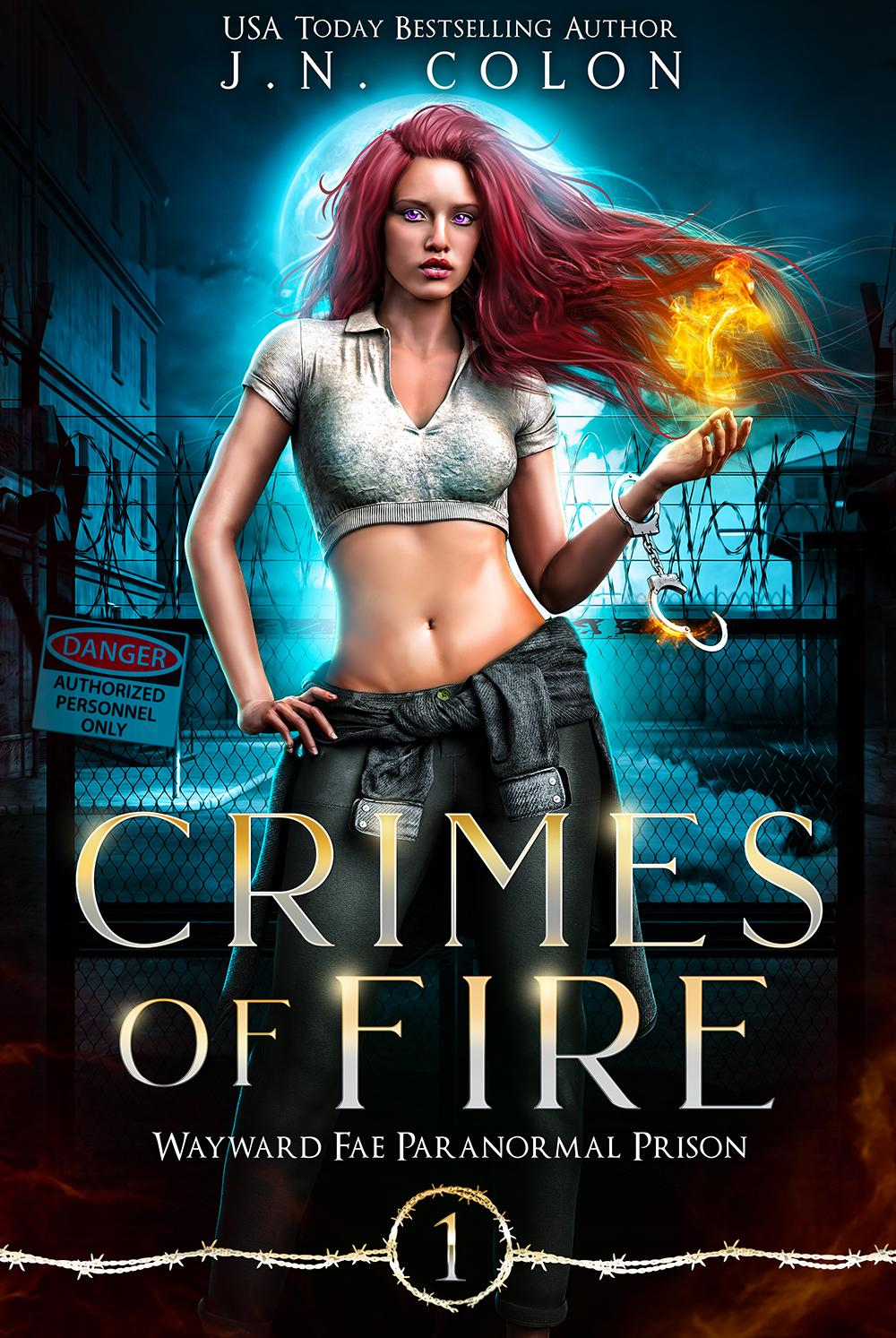 COVER Crimes of Fire