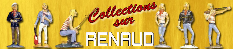 Collections sur Renaud