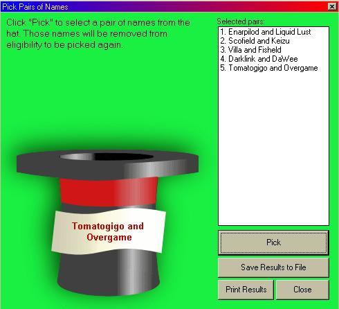 logiciel tirage au sort gratuit pickout