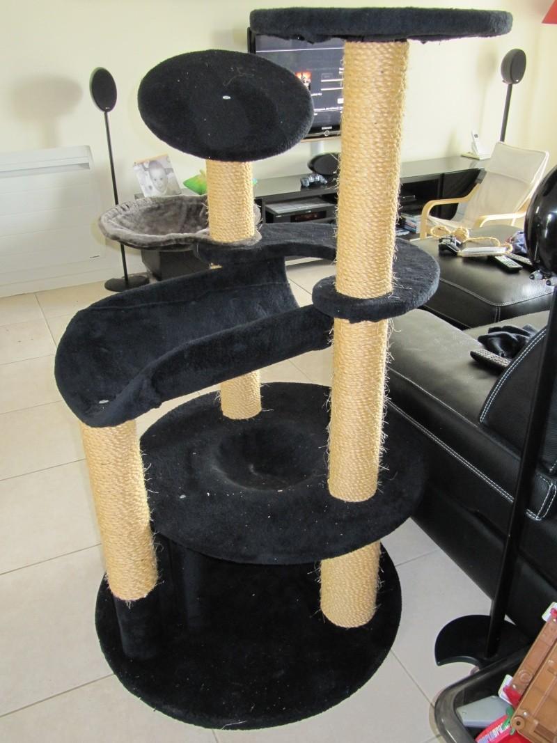 arbre chat pour nos gros minous. Black Bedroom Furniture Sets. Home Design Ideas