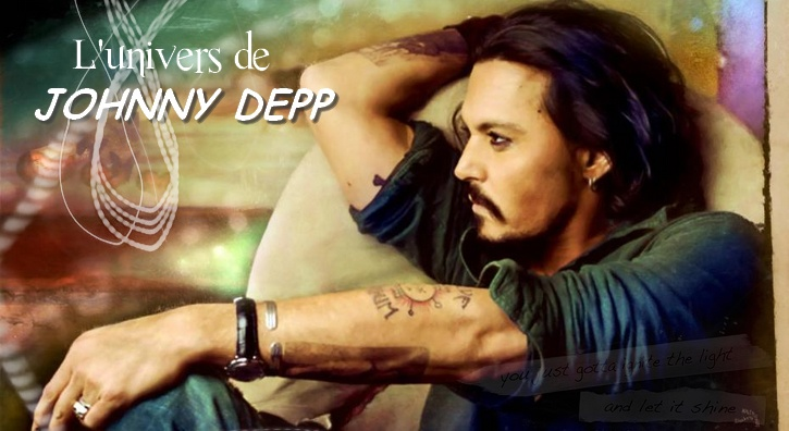L'univers de Johnny Depp