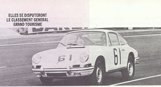 autodiva afficher le sujet les porsche 911 aux 24 heures du mans 1966 1971. Black Bedroom Furniture Sets. Home Design Ideas