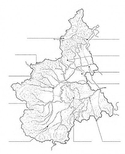 Cartina Muta Piemonte.Cartina Muta Piemonte Da Stampare