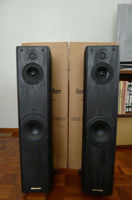 Sonus Faber Toy Tower floorstanding speakers (sold)