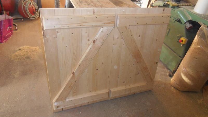 Fabrication d'une paire de volets Page 1 # Fabrication Volet Bois