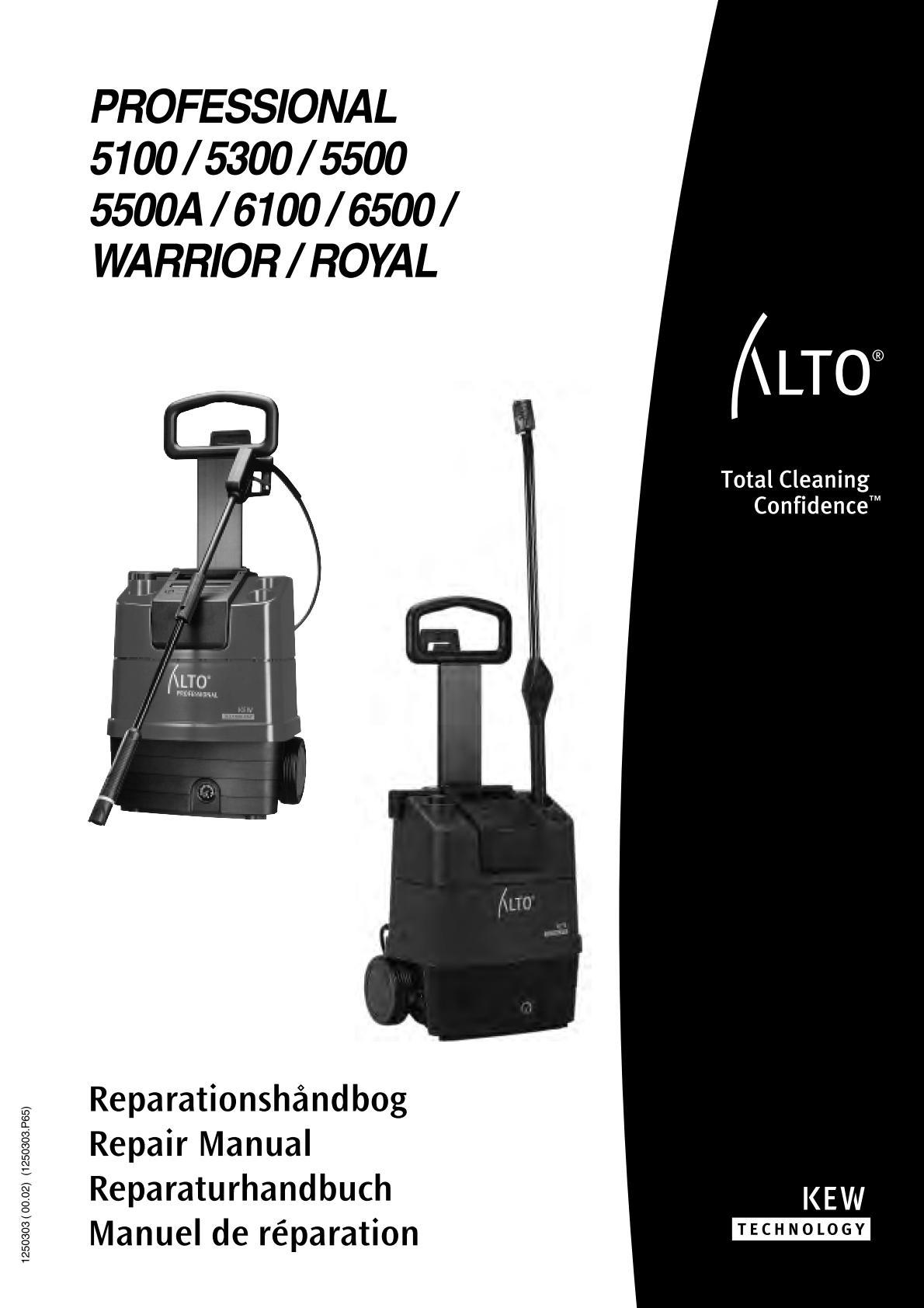Nettoyeur haute pression kew 6100 professional