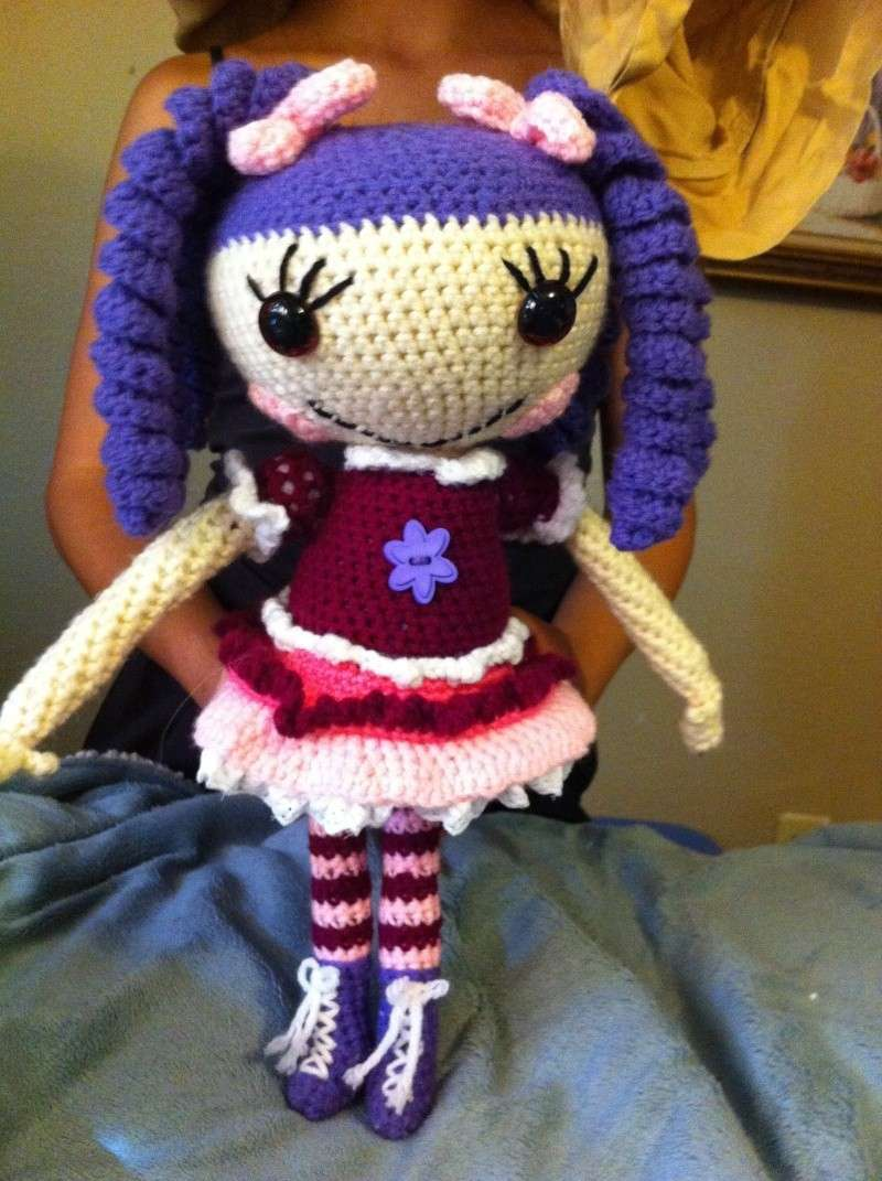 Lalaloopsy Amigurumi Tutorial : 1000+ images about Crochet Lalaloopsy on Pinterest ...