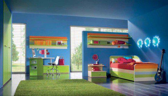 غرف نوم اطفال × غرف نوم اطفال مودرن