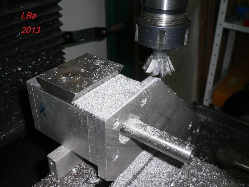 reprise fraisage boitier/plat support moteur