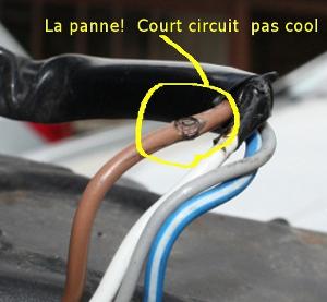 1700 tourer court circuit sur faisceau nieman panne g n ral electricit - Probleme electrique maison court circuit ...