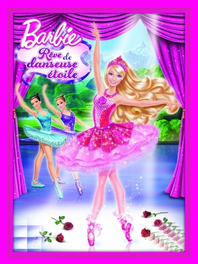 Barbie r ve de danseuse toile - Barbie danseuse magique ...