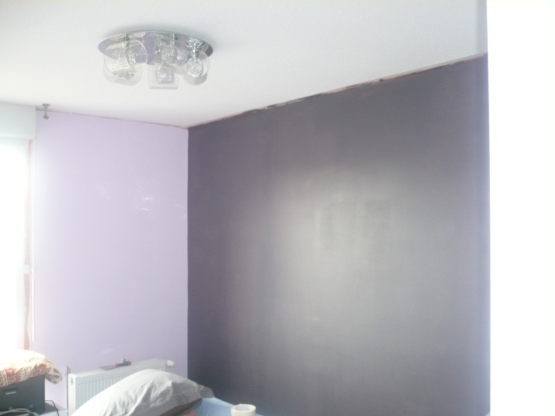 Stunning Chambre Gris Et Mauve Photos - Home Decorating Ideas ...