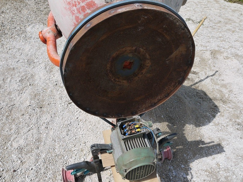 Maintenance sauvetage d 39 une b tonni re bricod - Prix d une betonniere ...