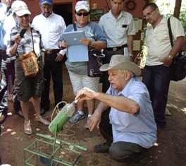 Docentes, investigadores y productores del estado mexicano de Coahuila en curso de posgrado sobre Desarrollo Agrario y Rural en la Universidad Agraria de la Habana