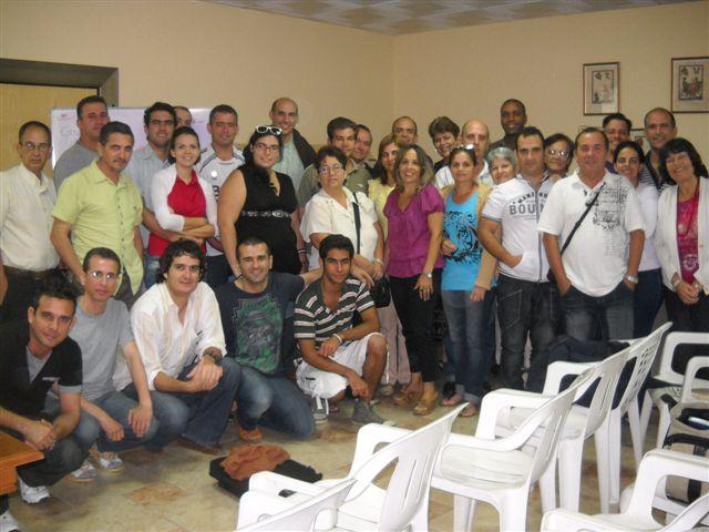 Participantes en el Taller de Lenguaje Digital