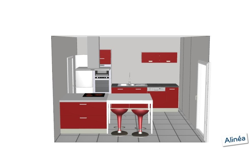 Idee amenagement cuisine semi ouverte maison design for Amenagement de cuisine americaine