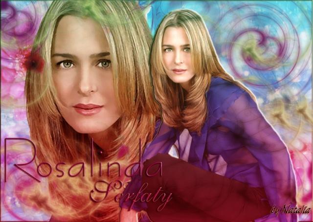 Официальный сайт актрисы - Росалинды Серфати «Идеальная женщина»